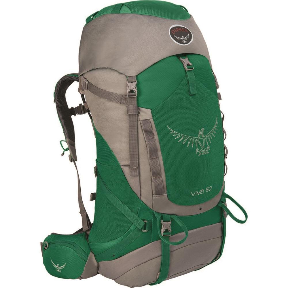 オスプレー レディース バッグ バックパック・リュック【Viva 50L Backpack】Sea Green
