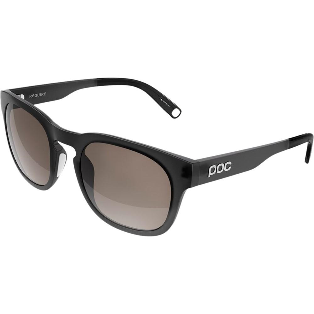 ピーオーシー レディース スポーツサングラス【Require Sunglasses】Uranium Black Translucent/Cold Brown/Silver Mirror