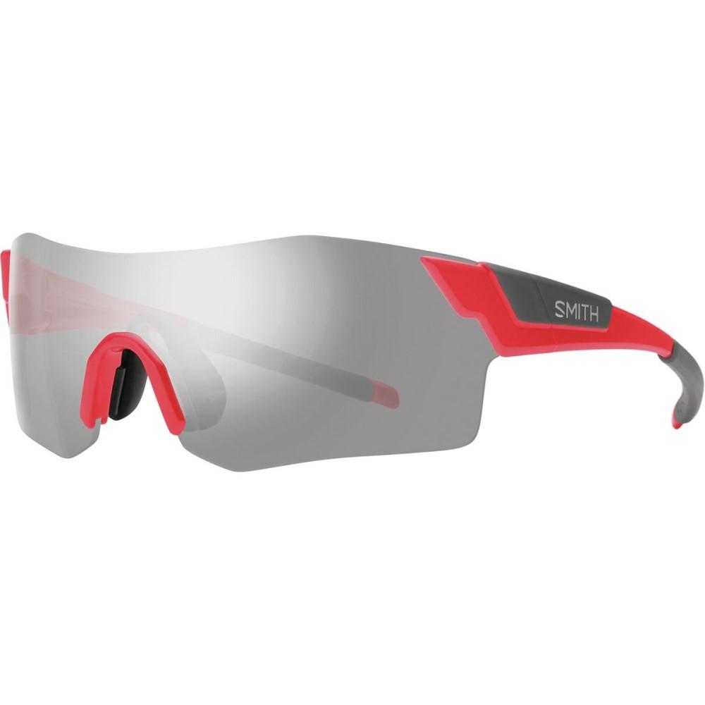 スミス レディース スポーツサングラス【Pivlock Arena ChromaPop Sunglasses】Rise/Platinum