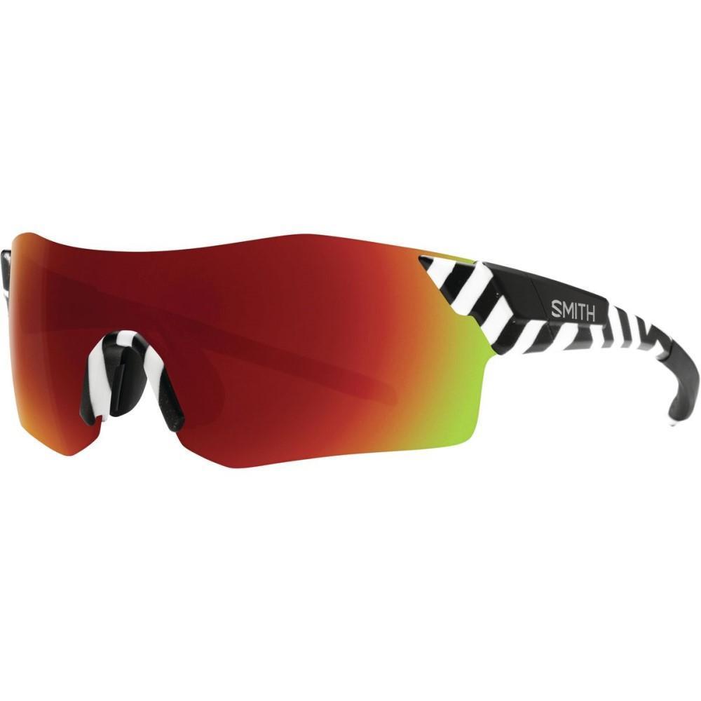 スミス レディース スポーツサングラス【Pivlock Arena ChromaPop Sunglasses】Squall/Sun Red Mirror