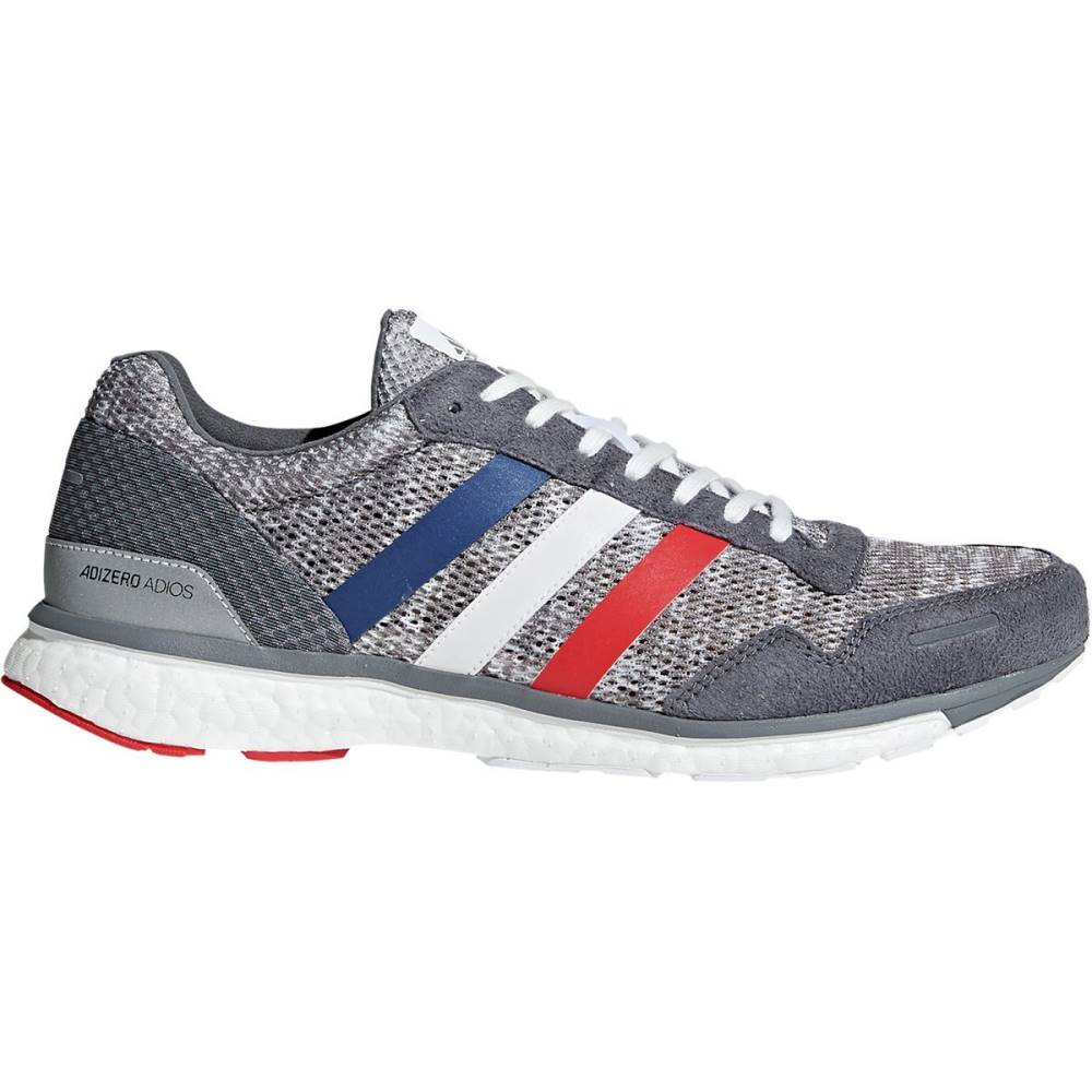 上品なスタイル アディダス メンズ ランニング・ウォーキング シューズ White/Scarlet Shoes】Grey・靴【Adizero Adios 3 3 Boost Running Shoes】Grey Four/Footwear White/Scarlet, こーてみんかや:4c8b0dd0 --- supercanaltv.zonalivresh.dominiotemporario.com
