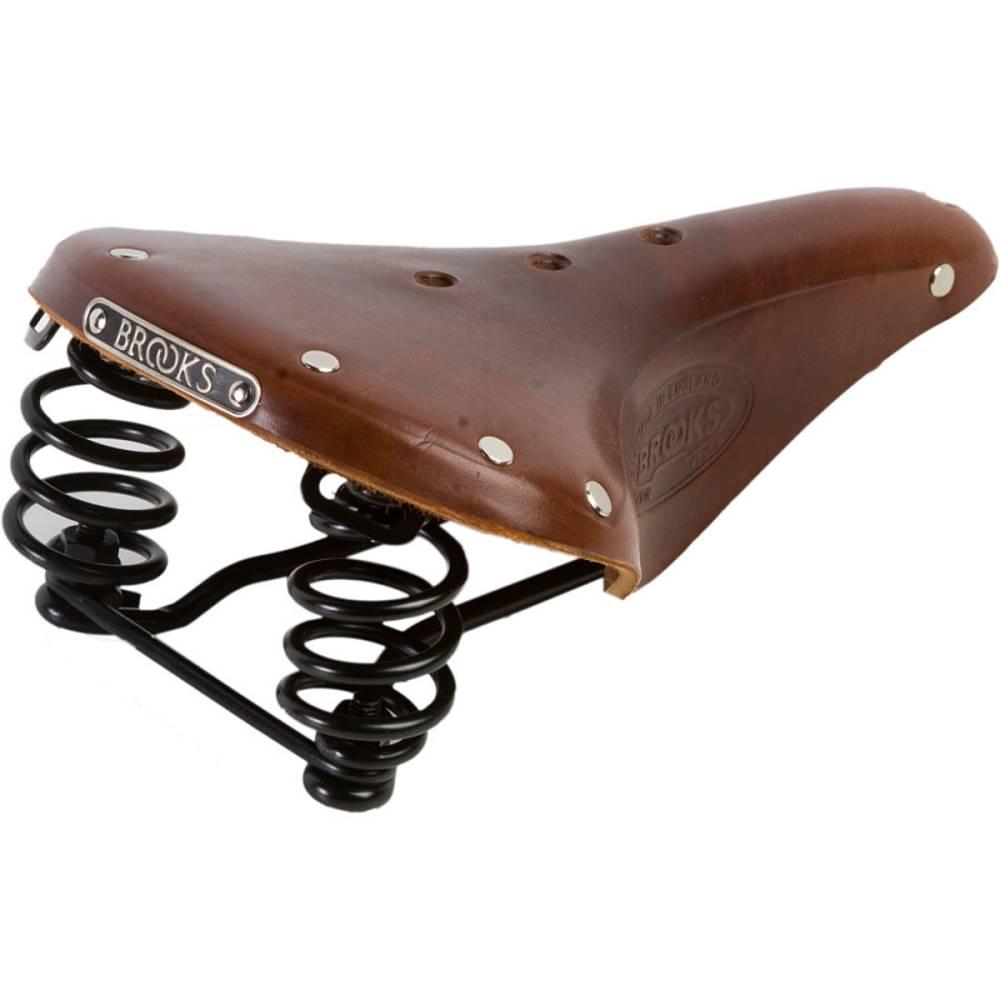 ブルックス メンズ 自転車 サドル【Flyer Saddles】Antique Brown