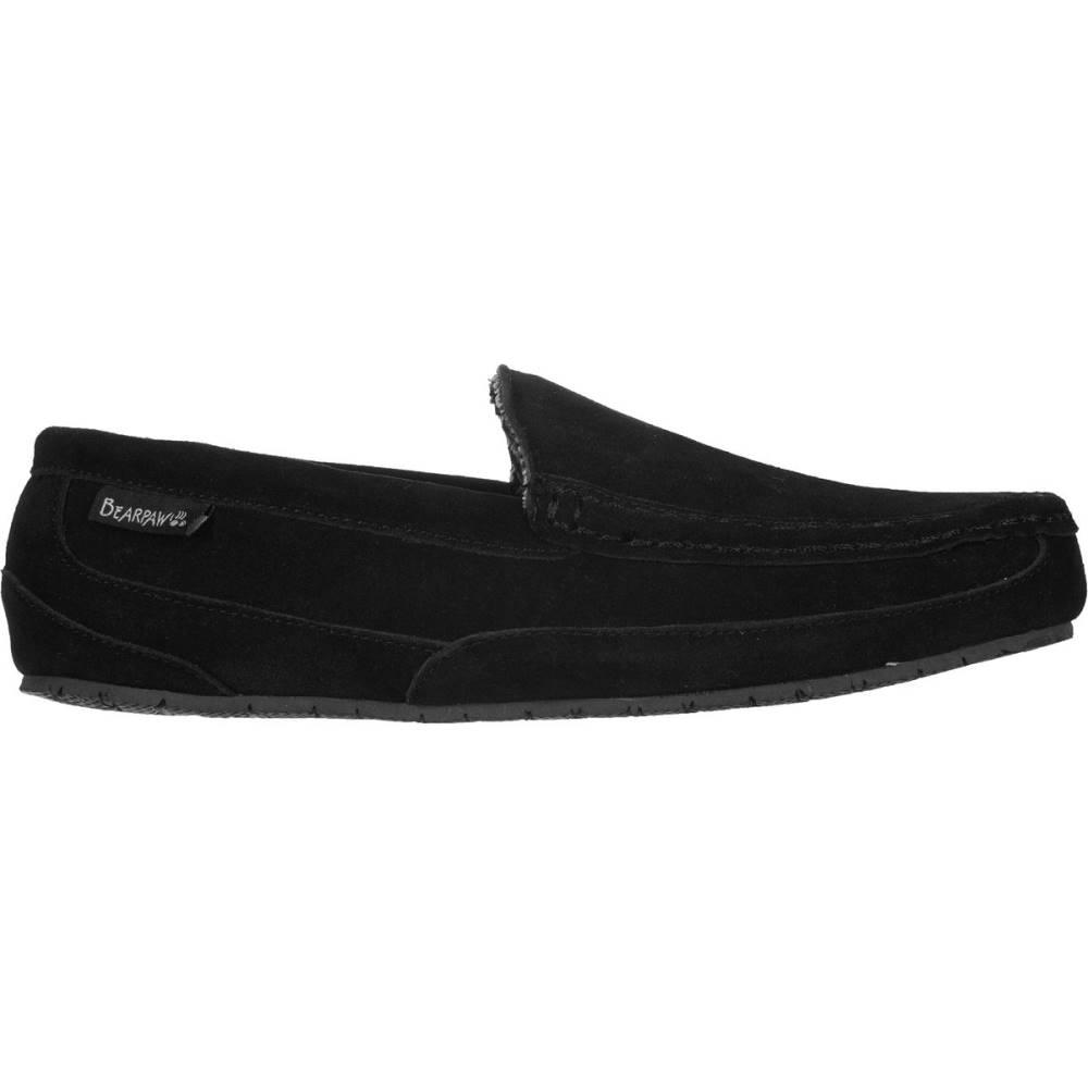 ベアパウ メンズ シューズ・靴 スリッパ【Peeta Slippers】Black Tweed