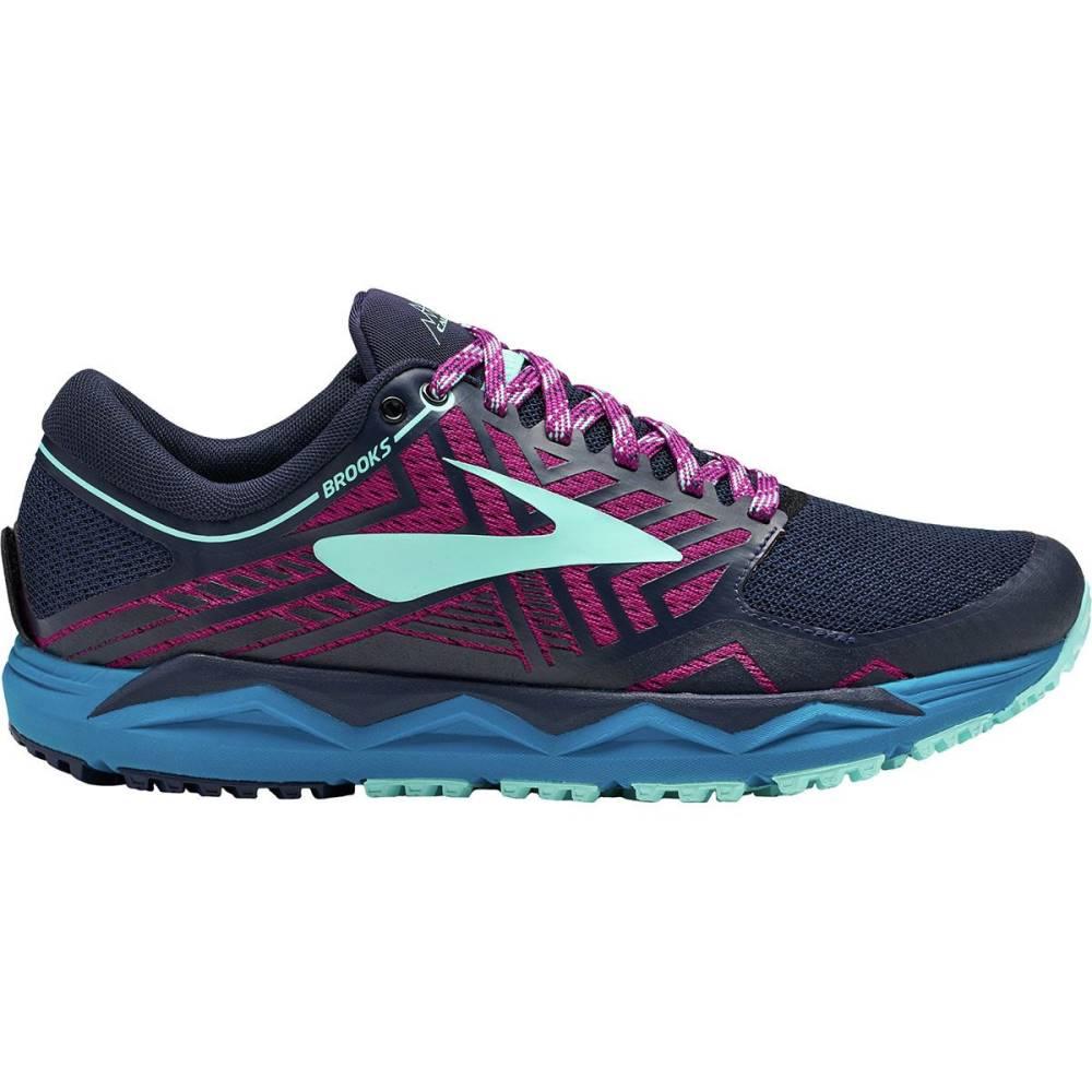 ブルックス レディース ランニング・ウォーキング シューズ・靴【Caldera 2 Trail Running Shoe】Navy-Plum-Ice Blue