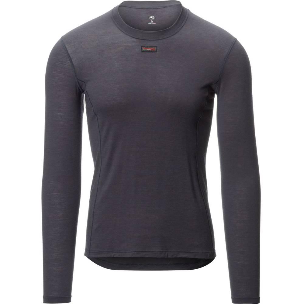 ジョルダーノ メンズ 自転車 トップス【Wool Blend Long Sleeve Base Layers】Grey
