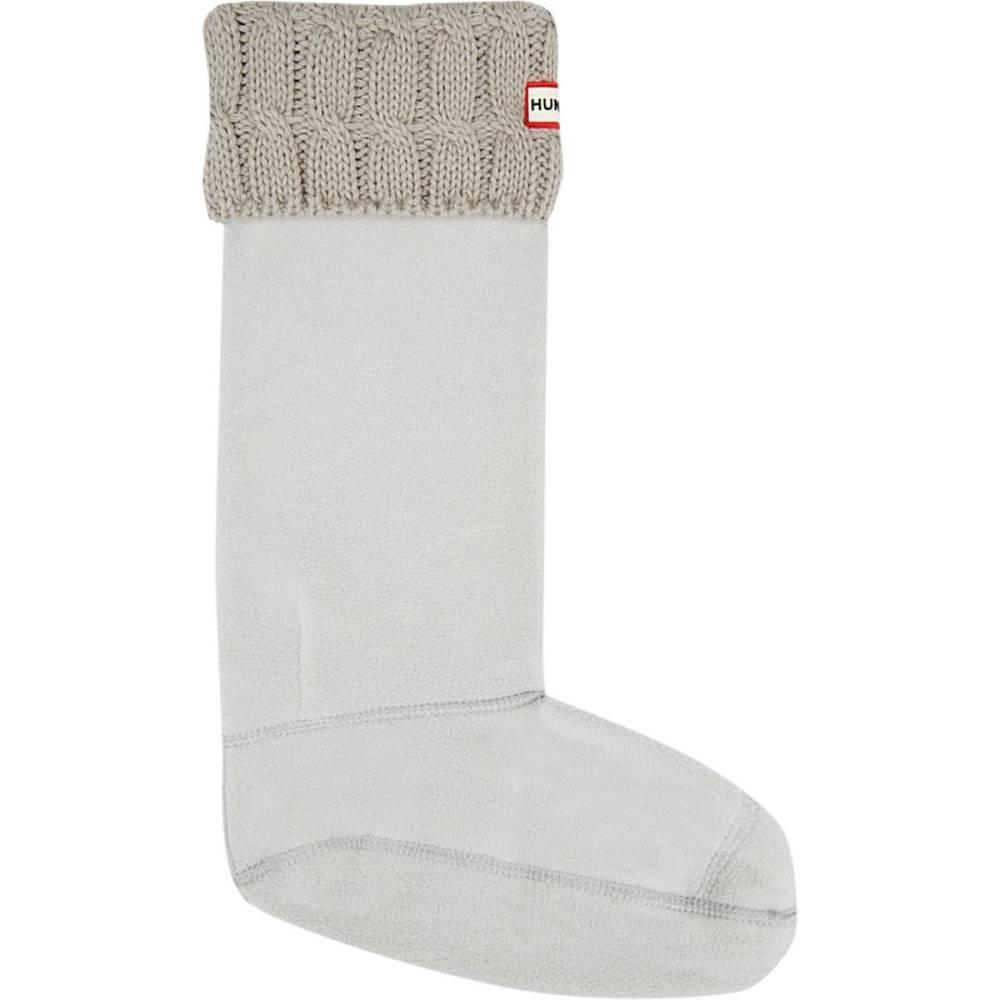 ハンター レディース インナー・下着 ソックス【Original 6 Stitch Cable Boot Sock】Greige