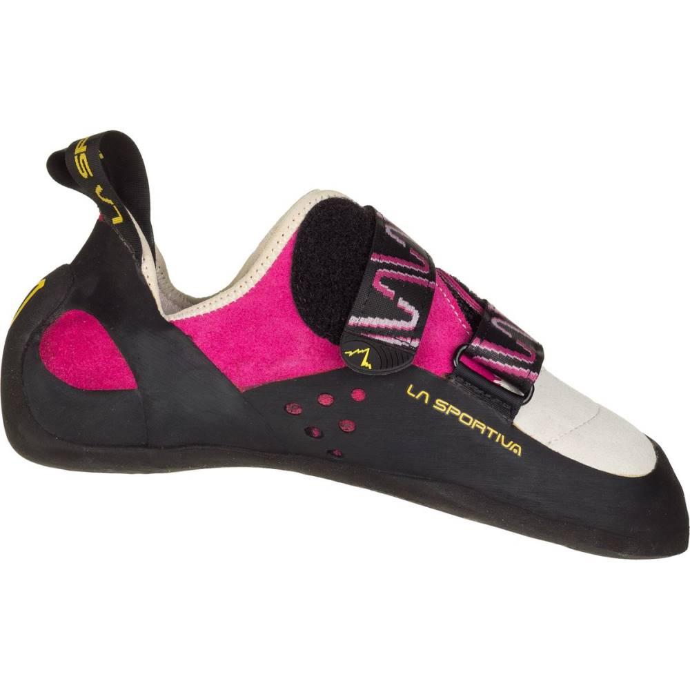 ラスポルティバ レディース クライミング シューズ・靴【Katana Rock Vibram XS Grip2 Climbing Shoe】Pink/White