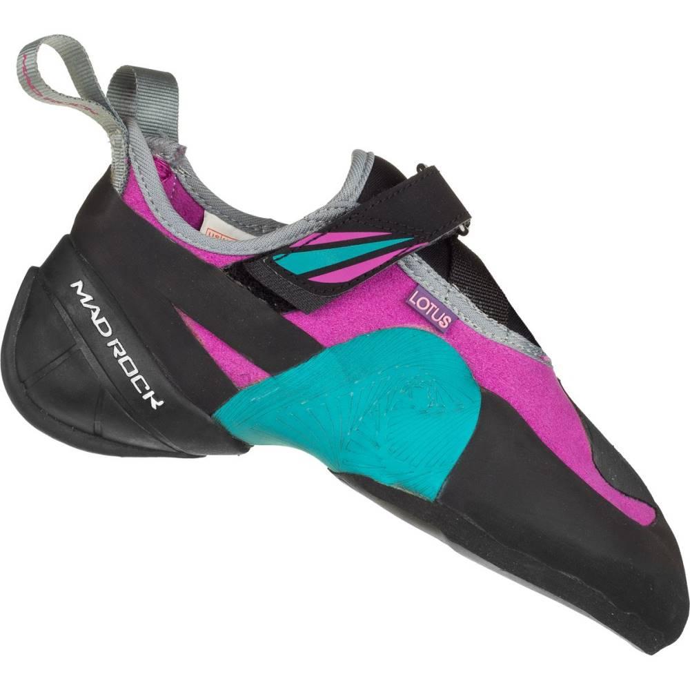 マッドロック レディース クライミング シューズ・靴【Lotus Climbing Shoe】Teal/Purple