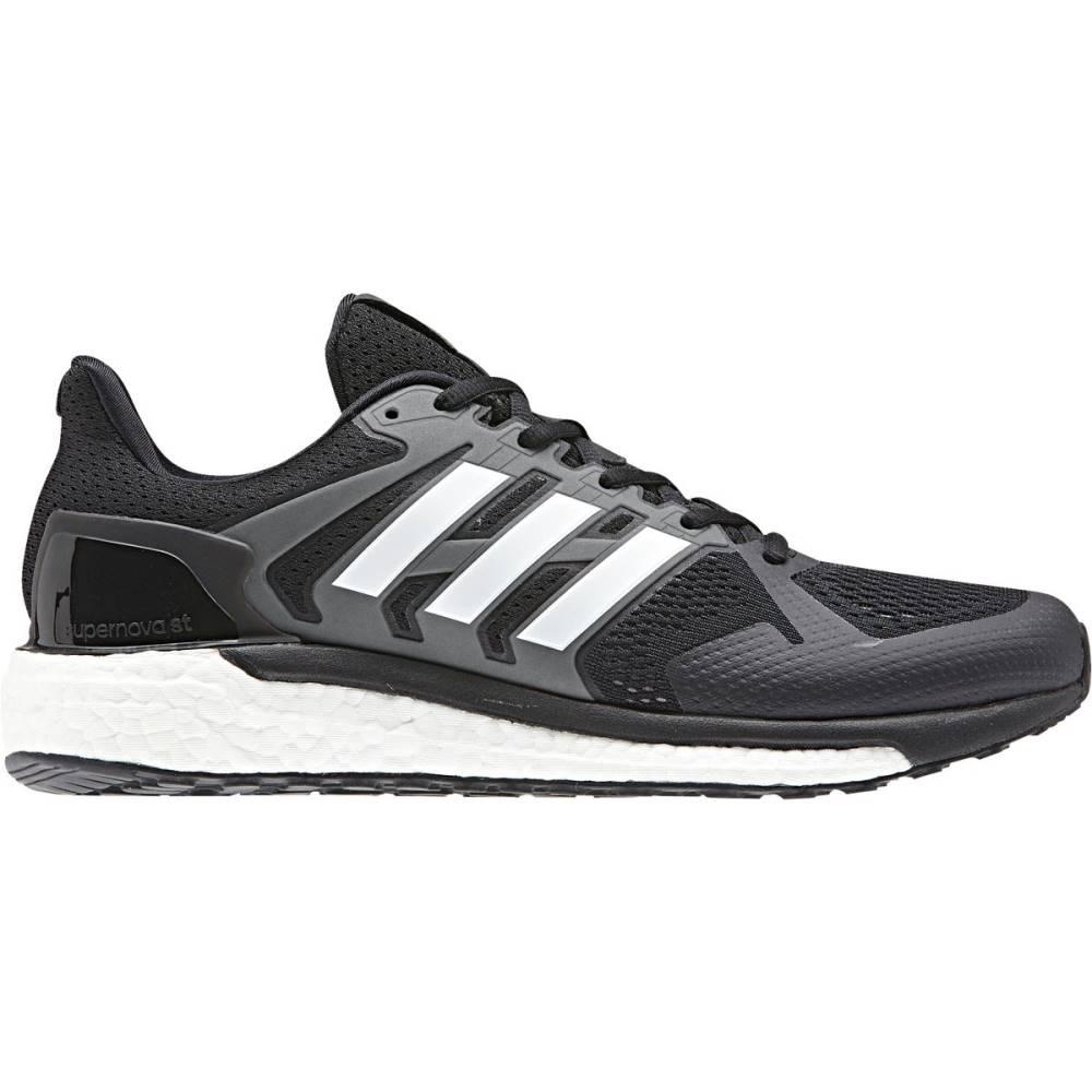 アディダス メンズ ランニング・ウォーキング シューズ・靴【Supernova ST Running Shoes】Core Black/Footwear White/Grey Three