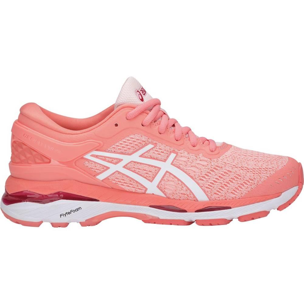 アシックス レディース ランニング・ウォーキング シューズ・靴【Gel - Kayano 24 Running Shoe】Seashell Pink/White/Begonia Pink
