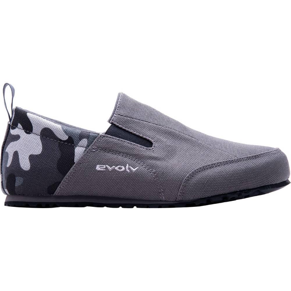 イボルブ メンズ ハイキング・登山 シューズ・靴【Cruzer Slip - On Approach Shoes】Camo Gray