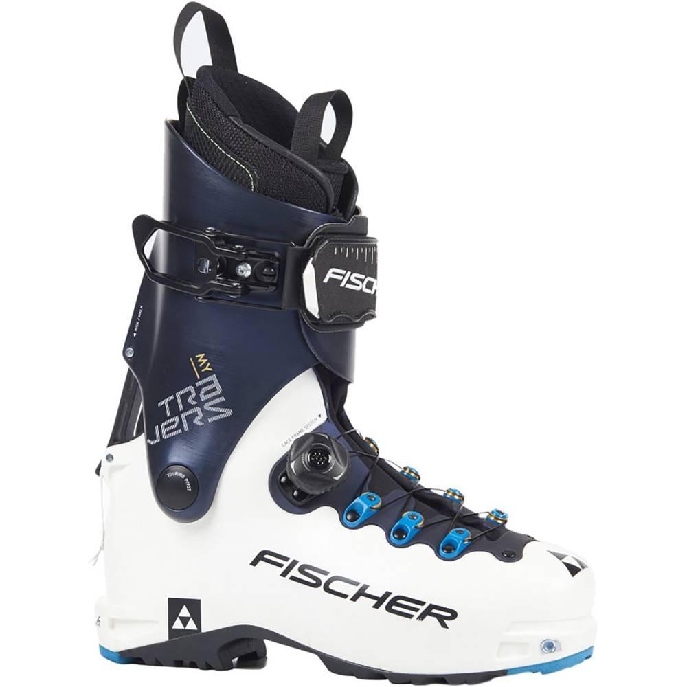 フィッシャー レディース スキー・スノーボード シューズ・靴【My Travers Alpine Touring Boot】White/Dark Blue