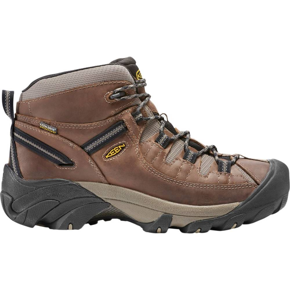 キーン メンズ ハイキング・登山 シューズ・靴【Targhee II Mid Hiking Boots】Shitake/Brindle