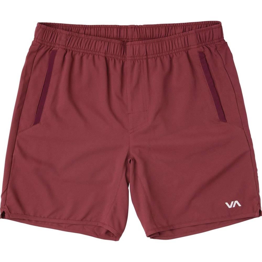 ルーカ メンズ フィットネス・トレーニング ボトムス・パンツ【Yogger III Shorts】Tawny Port