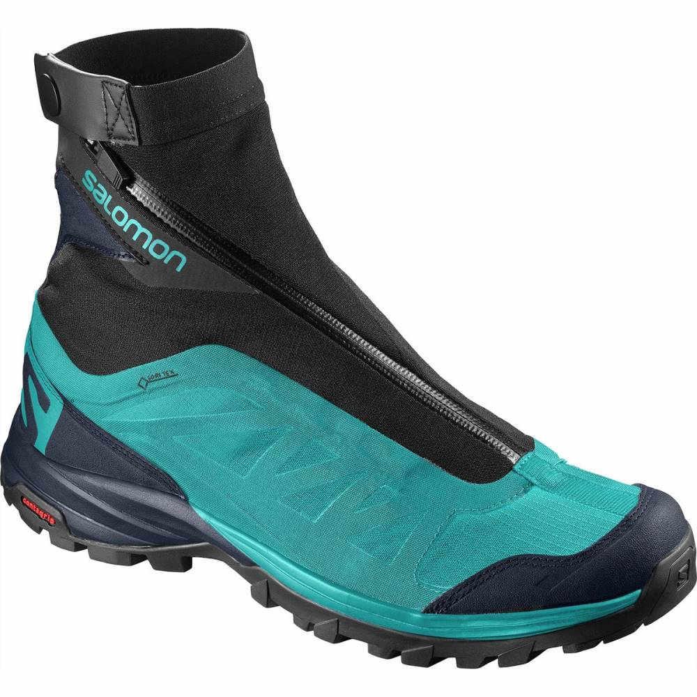 サロモン レディース ハイキング・登山 シューズ・靴【Outpath Pro GTX Hiking Boot】Blue Bird/Navy Blazer/Black