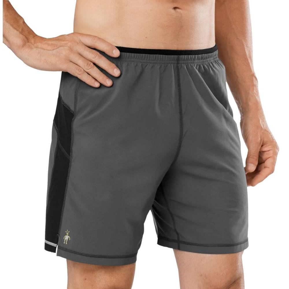 スマートウール メンズ フィットネス・トレーニング ボトムス・パンツ【PhD 7in Shorts】Graphite
