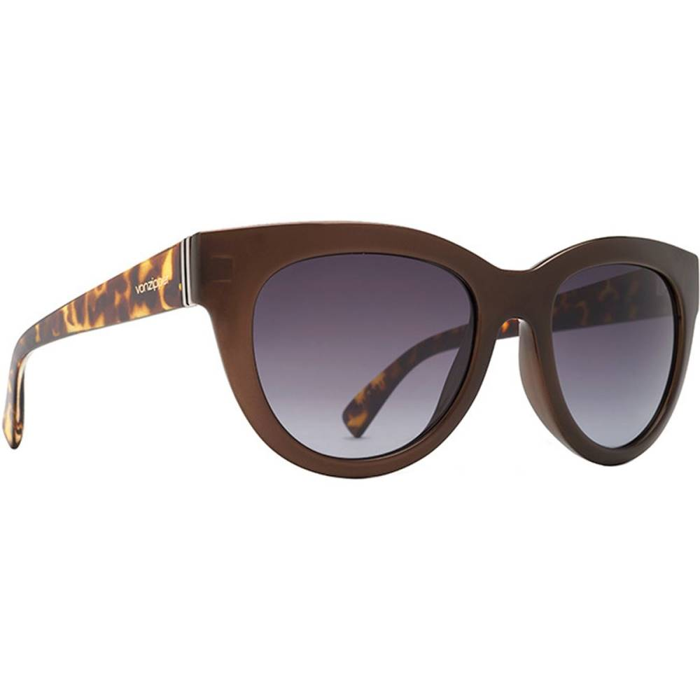 Sunglasses】Copper Grey Gloss Tort ボンジッパー レディース メガネ・サングラス【Queenie Satin/Vintage