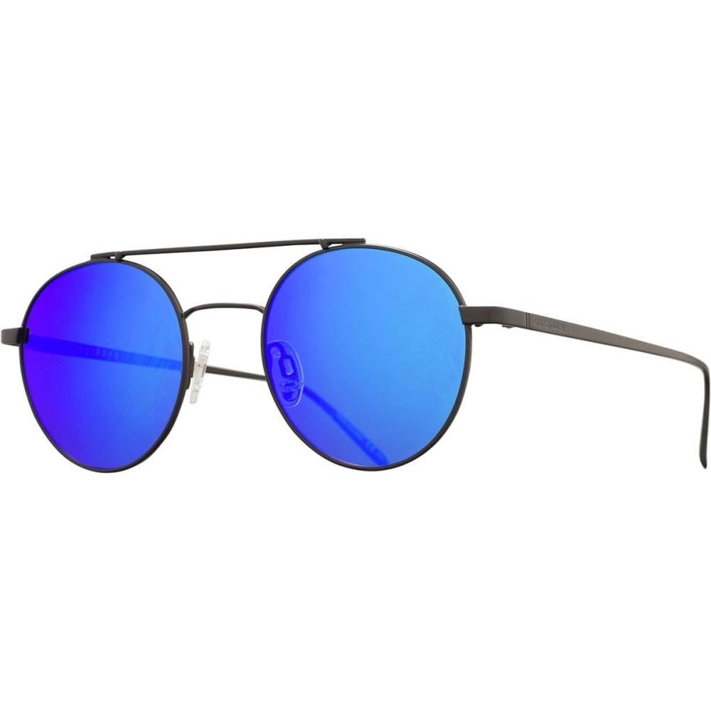 ボンジッパー レディース メガネ・サングラス【Skiffle Sunglasses】Black Satin/Blue Chrome