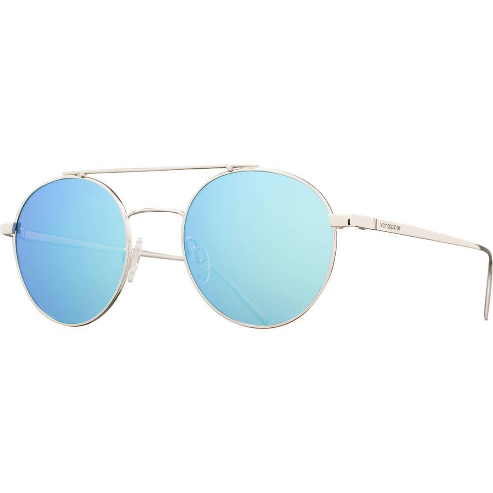 ボンジッパー レディース メガネ・サングラス【Skiffle Sunglasses】Silver/Ice Chrome