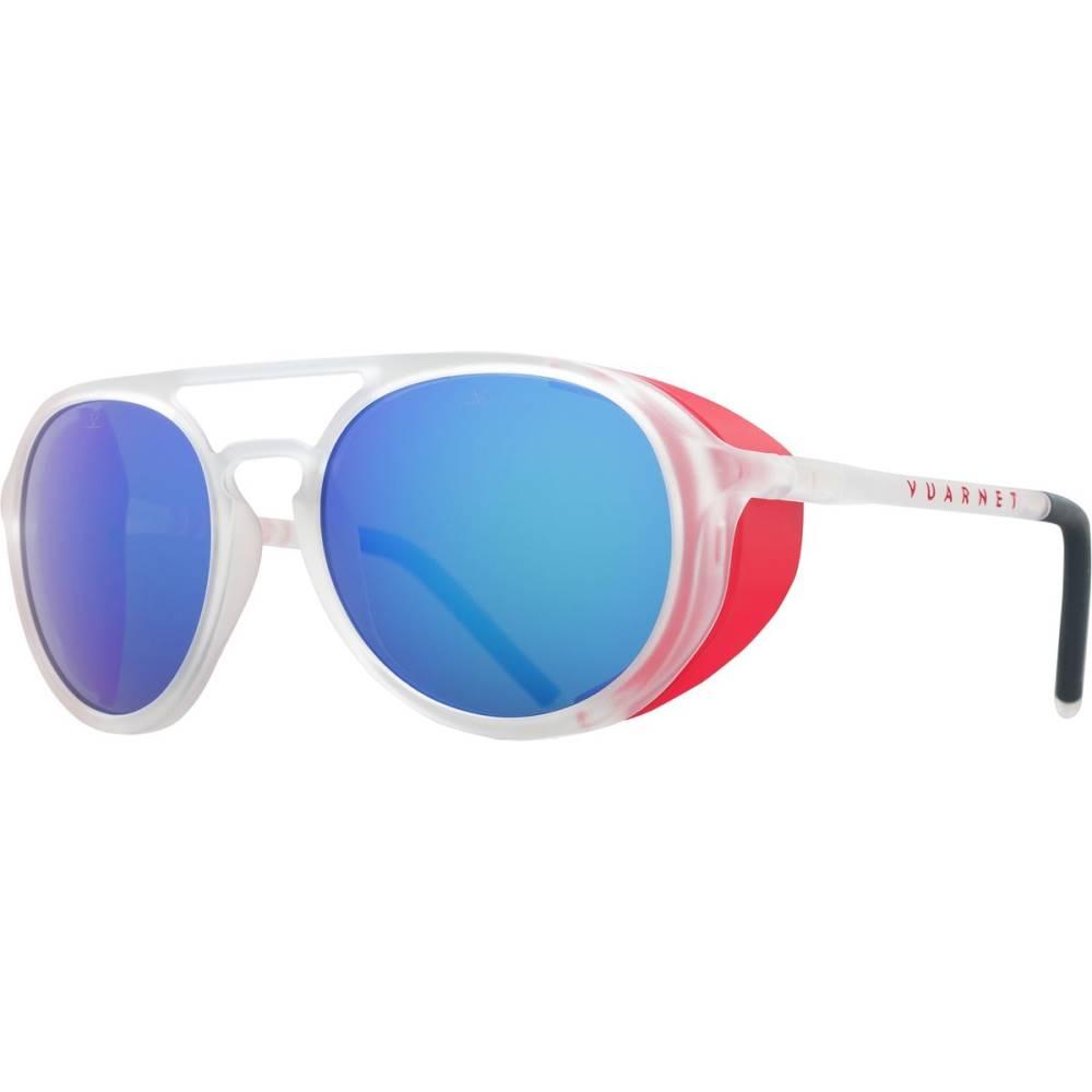 ヴュアルネ レディース スポーツサングラス【ICE Polarized Sunglasses】Matte Crystal/Matte Red/Blue