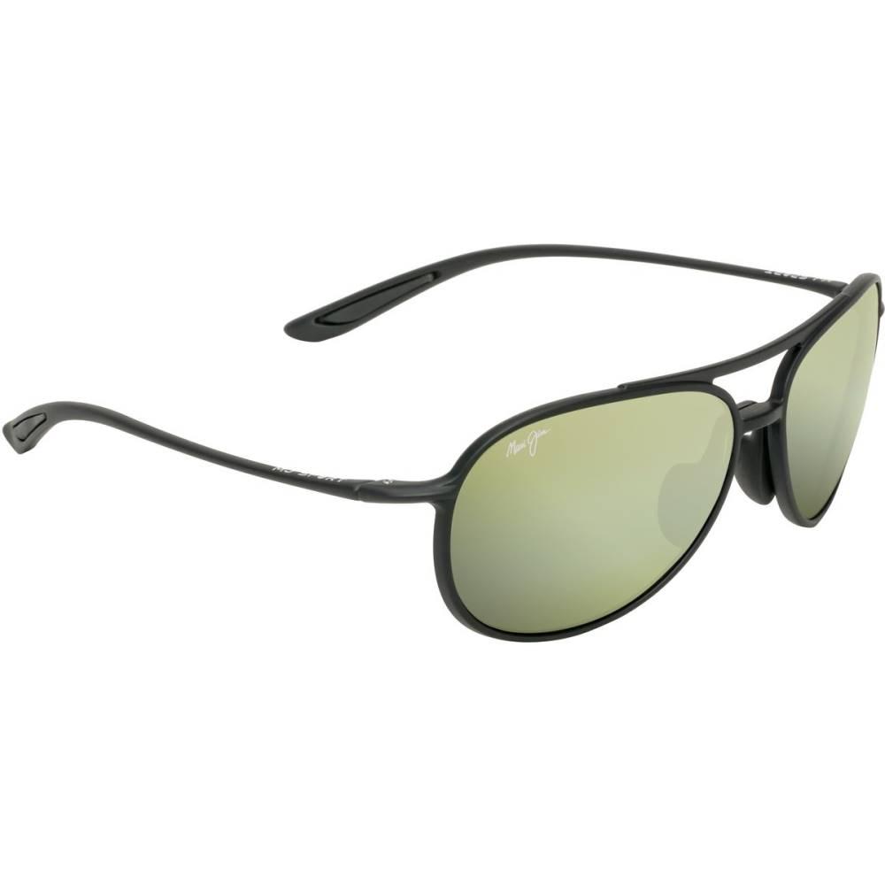 マウイジム レディース メガネ・サングラス【Alelele Bridge Polarized Sunglasses】Matte Black/Maui HT