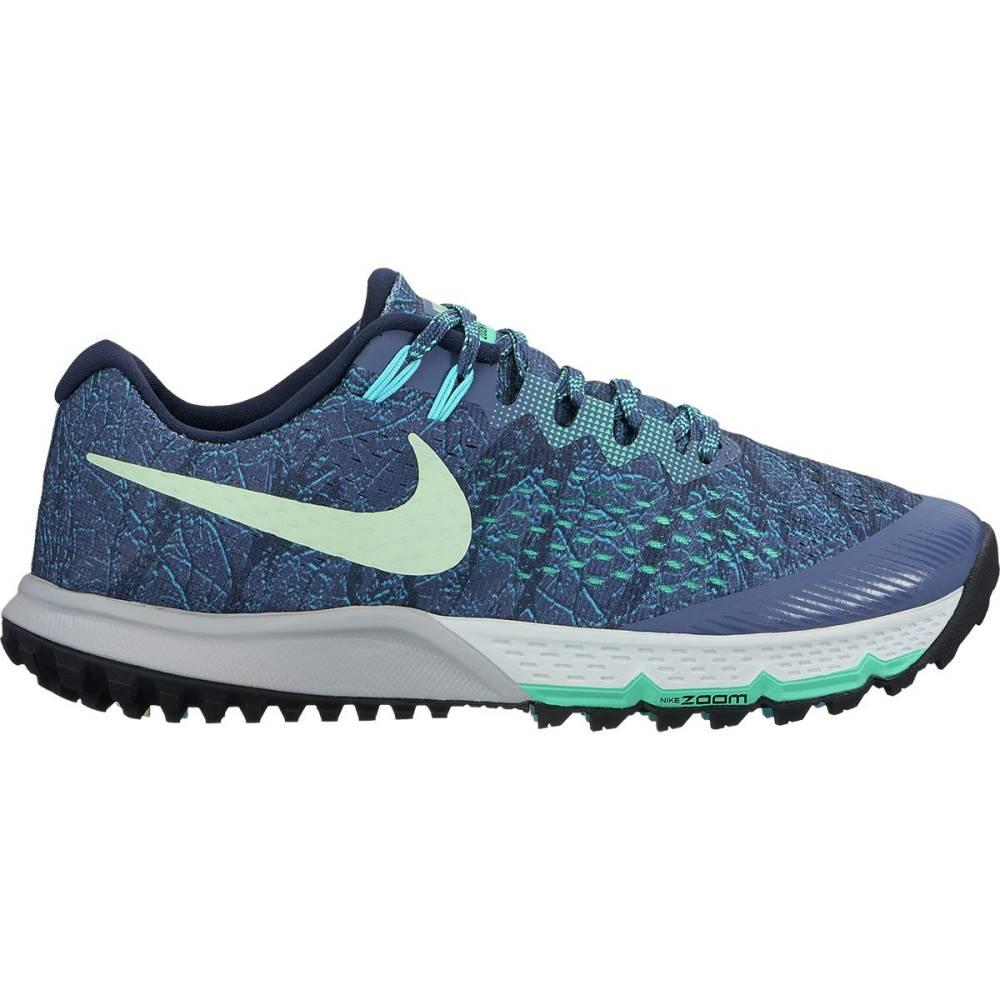 ナイキ レディース ランニング・ウォーキング シューズ・靴【Air Zoom Terra Kiger 4 Trail Running Shoe】Diffused Blue/Vapor Green-Obsidian-Menta
