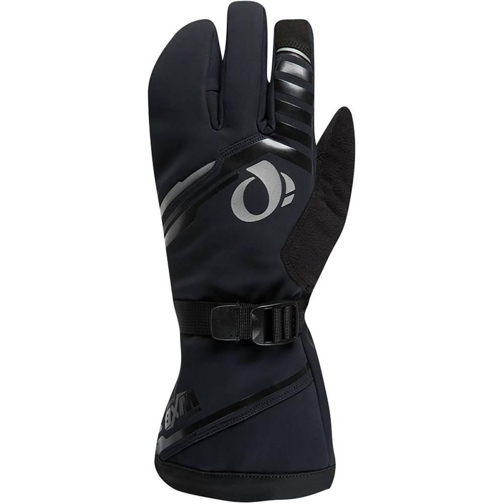 パールイズミ メンズ 自転車 グローブ【Pro AmFIB Super Glove】Black/Black