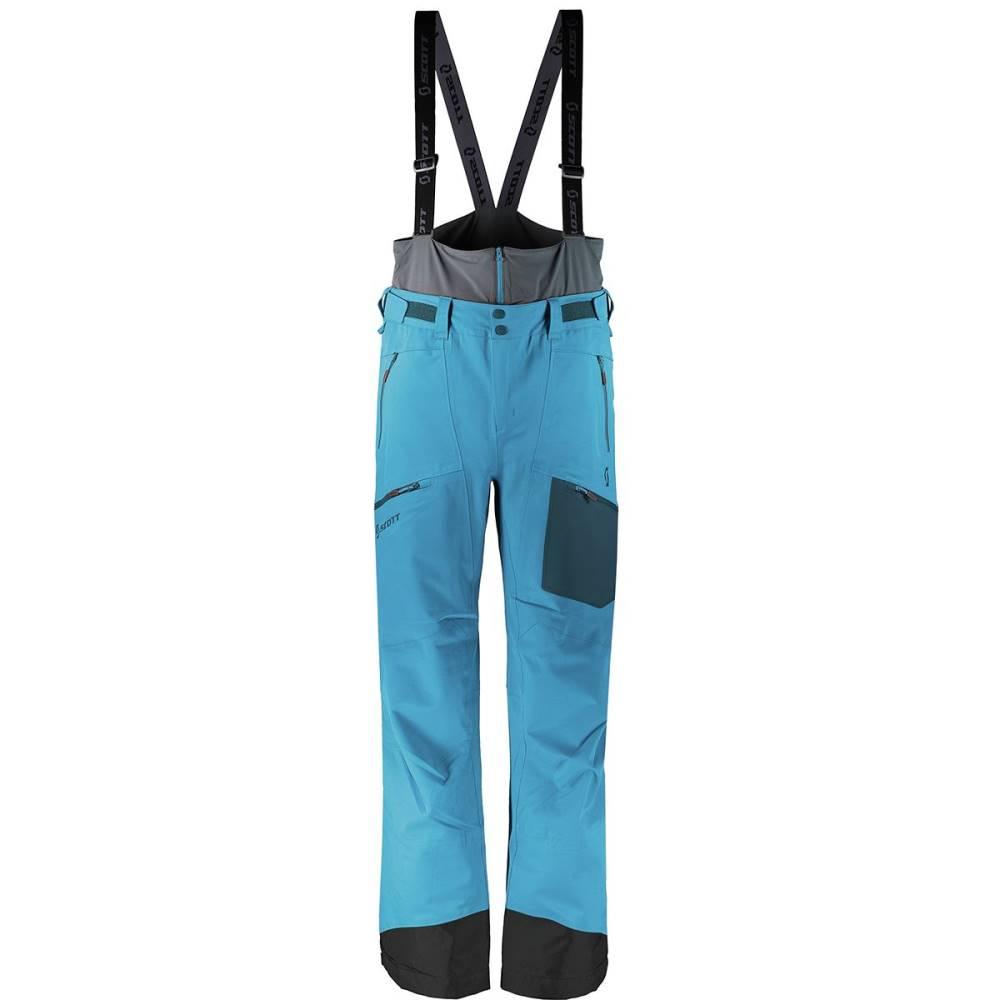 スコット メンズ スキー・スノーボード メンズ Blue ボトムス・パンツ【Vertic スコット 3L Pants】Marine Blue, 引越資材プロショップ:645f2a0b --- rakuten-apps.jp
