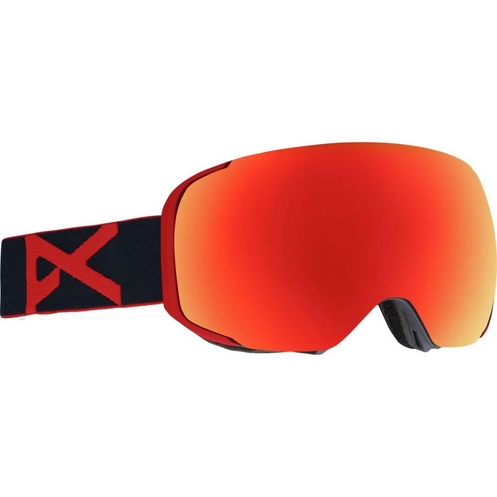 アノン メンズ スキー・スノーボード ゴーグル【M2 MFI Goggles】Red Eye/Sonar Red