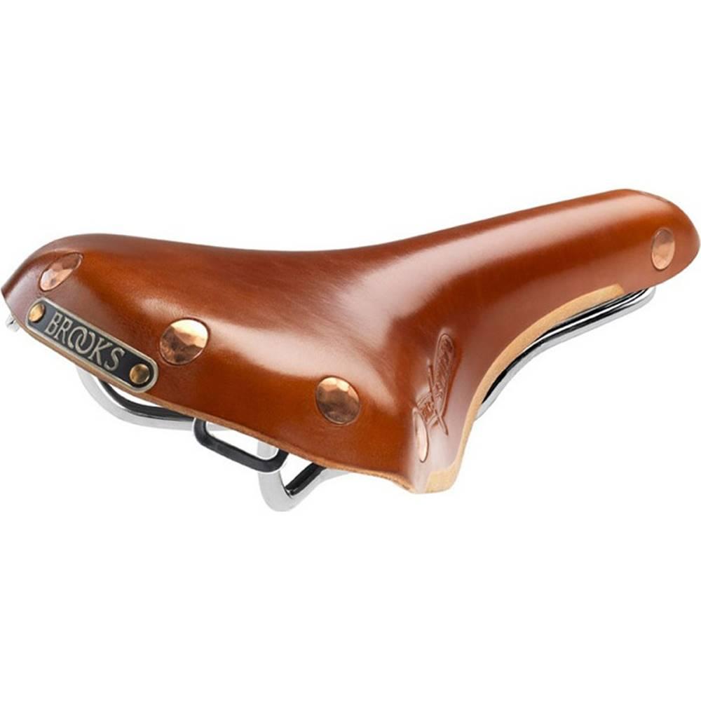ブルックス メンズ 自転車 サドル【Swift Saddles】Honey-Chrome Steel