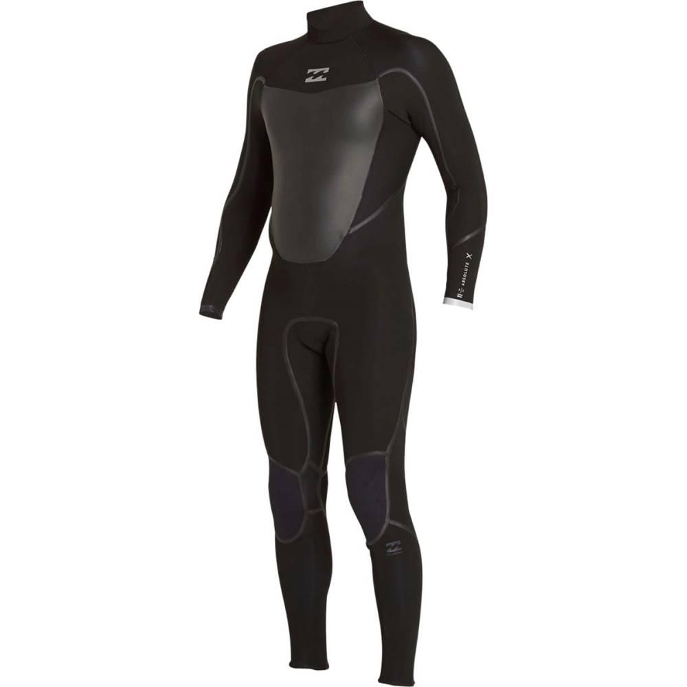 ビラボン メンズ 水着・ビーチウェア ウェットスーツ【4/3 Absolute X Chest Zip Full Wetsuits】Black