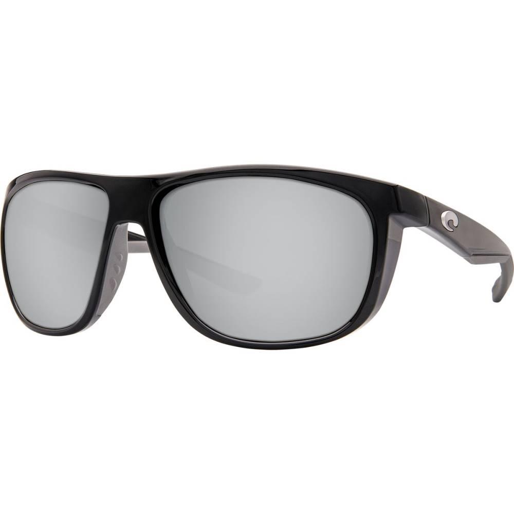 コスタ レディース メガネ・サングラス【Kiwa Polarized 580P Sunglasses】Shiny Black Silver Mirror 580p