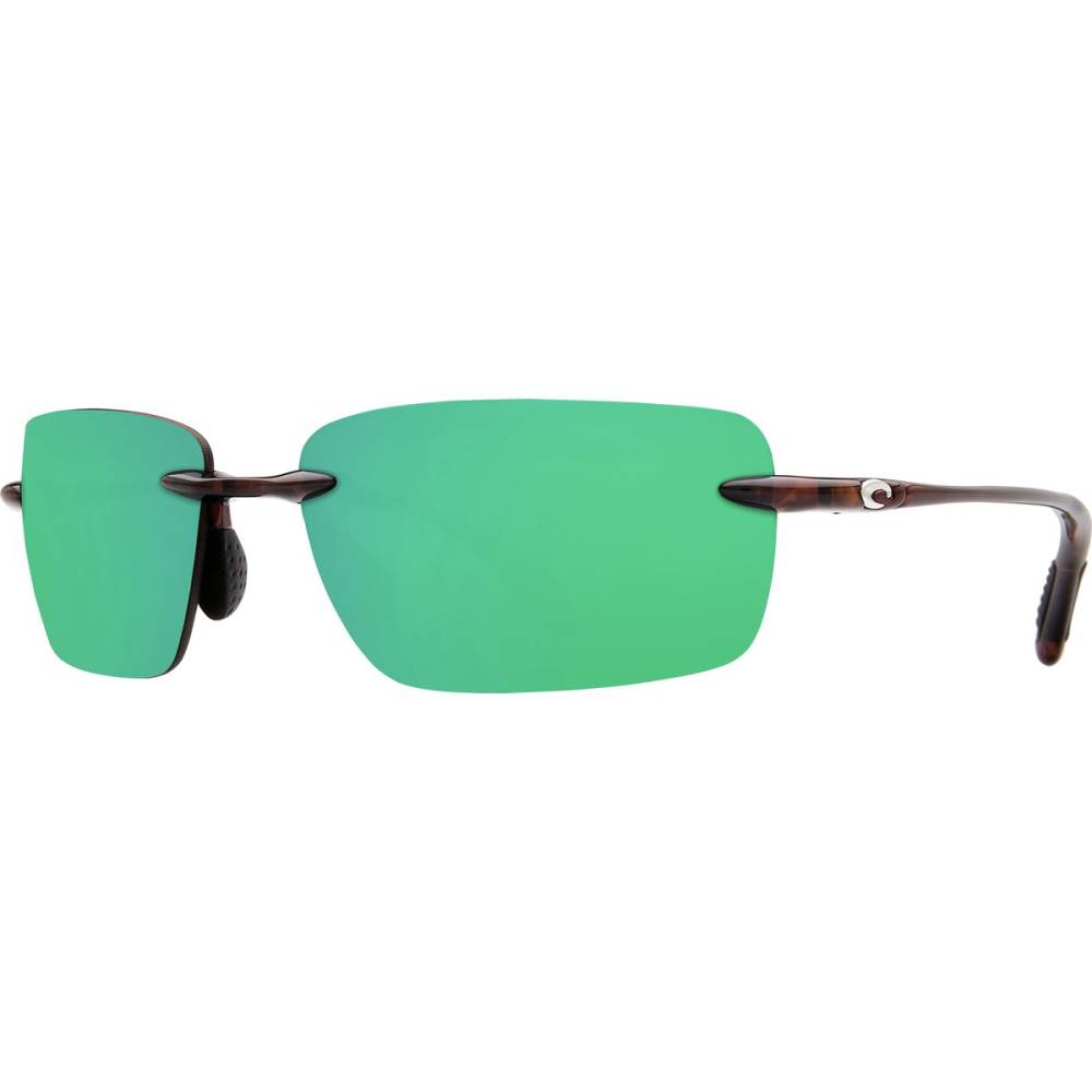 コスタ レディース メガネ・サングラス【Oyster Bay 580P Sunglasses - Polarized】Shiny Tort Green Mirror 580p