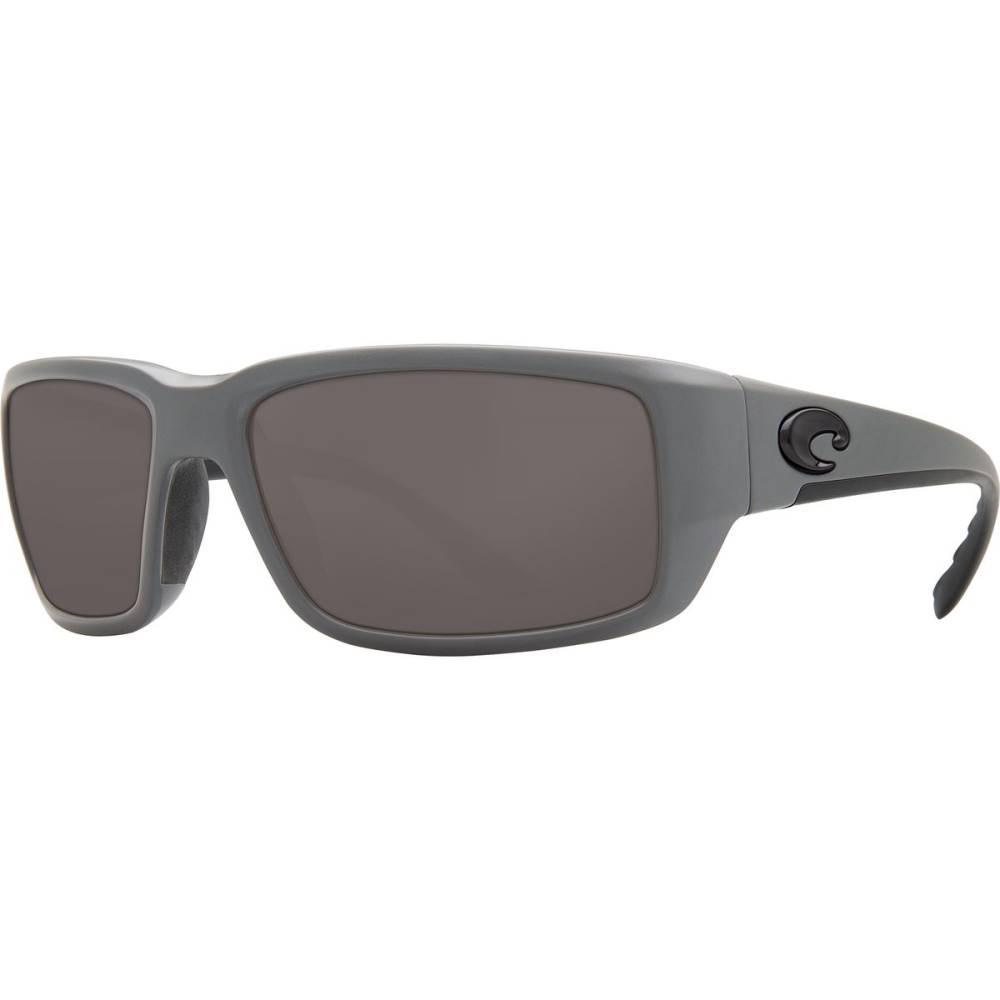 コスタ レディース スポーツサングラス【Fantail Polarized 580P Sunglasses】Matte Gray Gray 580p