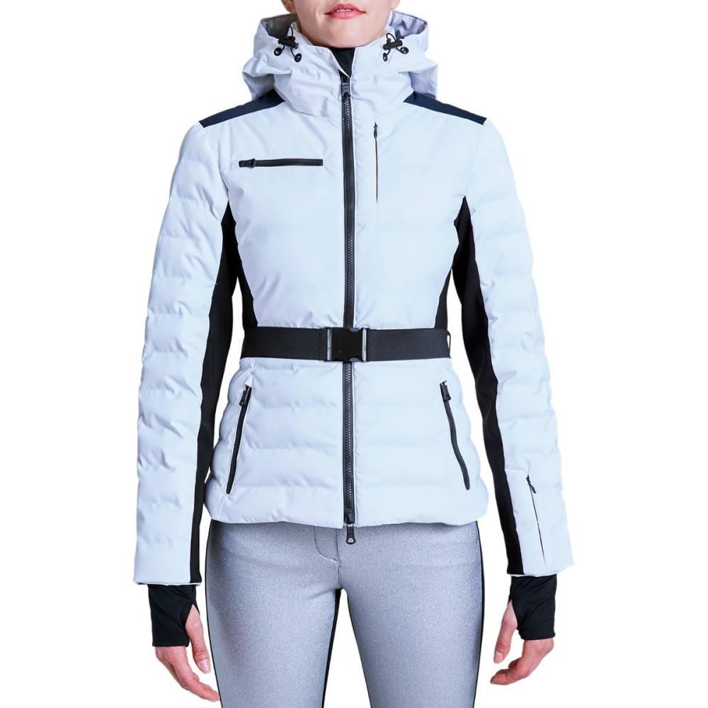 エリンスノー レディース スキー・スノーボード アウター【Kat Eco Sporty Jacket】Snow/Black/Navy