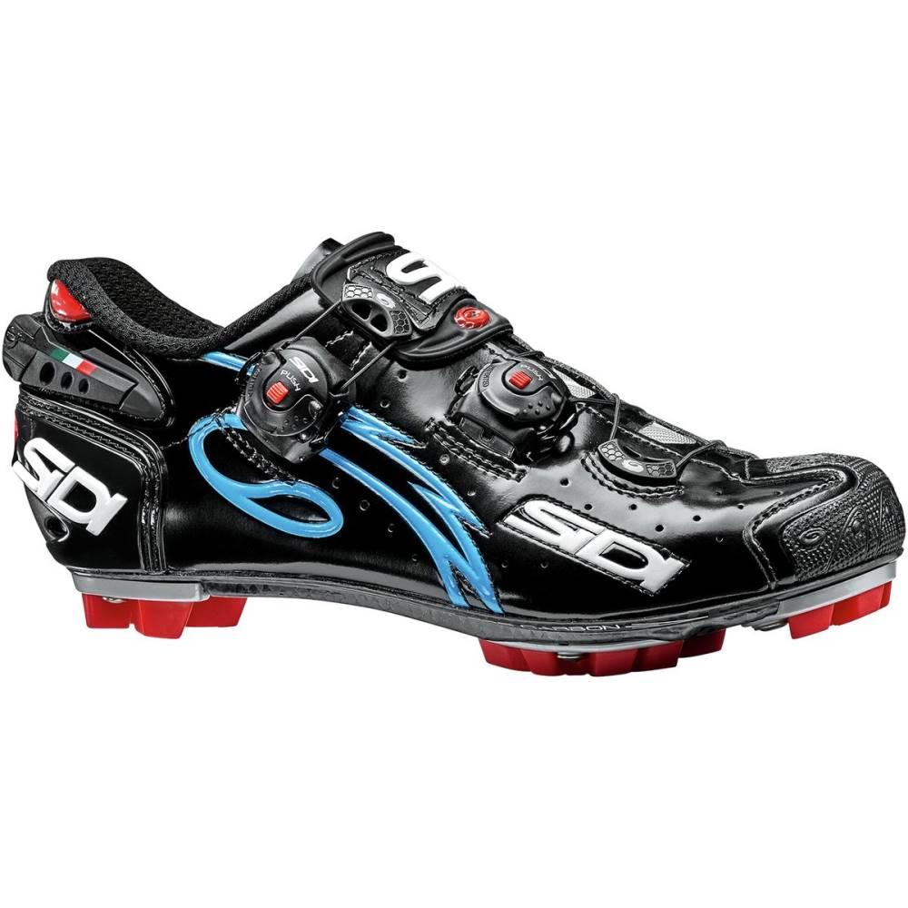 【同梱不可】 シディー レディース 自転車 シディー シューズ・靴【Drako SRS Push SRS Shoes Push】Black/Light Blue, 児湯郡:08c50c86 --- business.personalco5.dominiotemporario.com