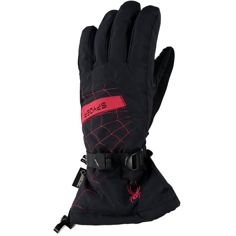 スパイダー メンズ 手袋・グローブ【Overweb Gore - Tex Glove】Black/Red