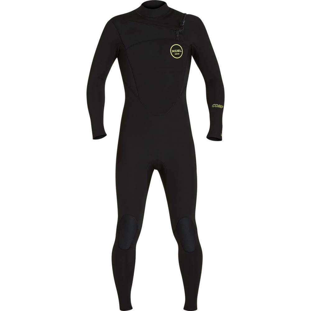 エクセルハワイ メンズ 水着・ビーチウェア ウェットスーツ【X2 Comp 3/2mm Thermo Lite Full Wetsuits】Black