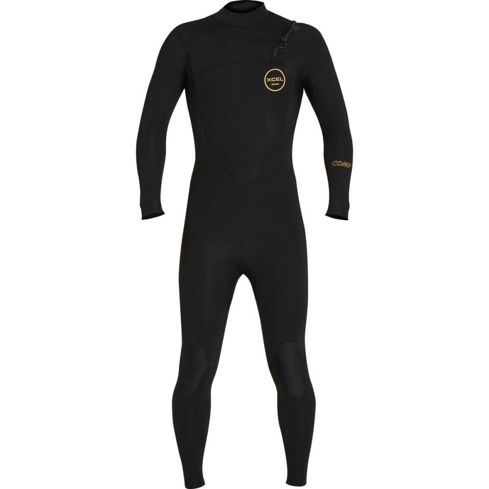 【数量限定】 エクセルハワイ メンズ 水着 メンズ・ビーチウェア ウェットスーツ【X2 4/3mm Thermo Comp Wetsuits】Black Thermo Full Wetsuits】Black, WORLD.LINE:85a42426 --- canoncity.azurewebsites.net