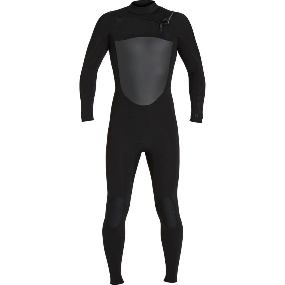 エクセルハワイ メンズ 水着・ビーチウェア ウェットスーツ【Infiniti 3/2 Chest - Zip Wetsuits】Black/Black Logos