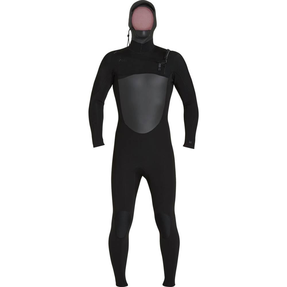 エクセルハワイ メンズ 水着・ビーチウェア ウェットスーツ【Infiniti 5/4 Hooded Wetsuits】Black/Black Logos