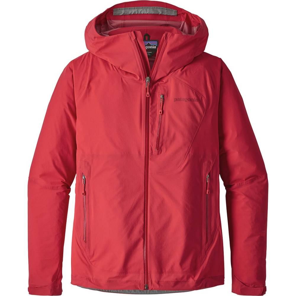 パタゴニア レディース アウター レインコート【Stretch Rainshadow Jacket】Maraschino