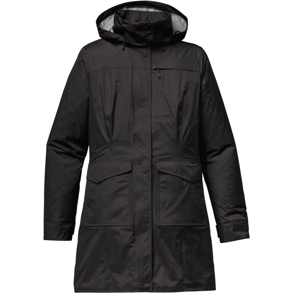 パタゴニア レディース アウター レインコート【Torrentshell City Coat】Black