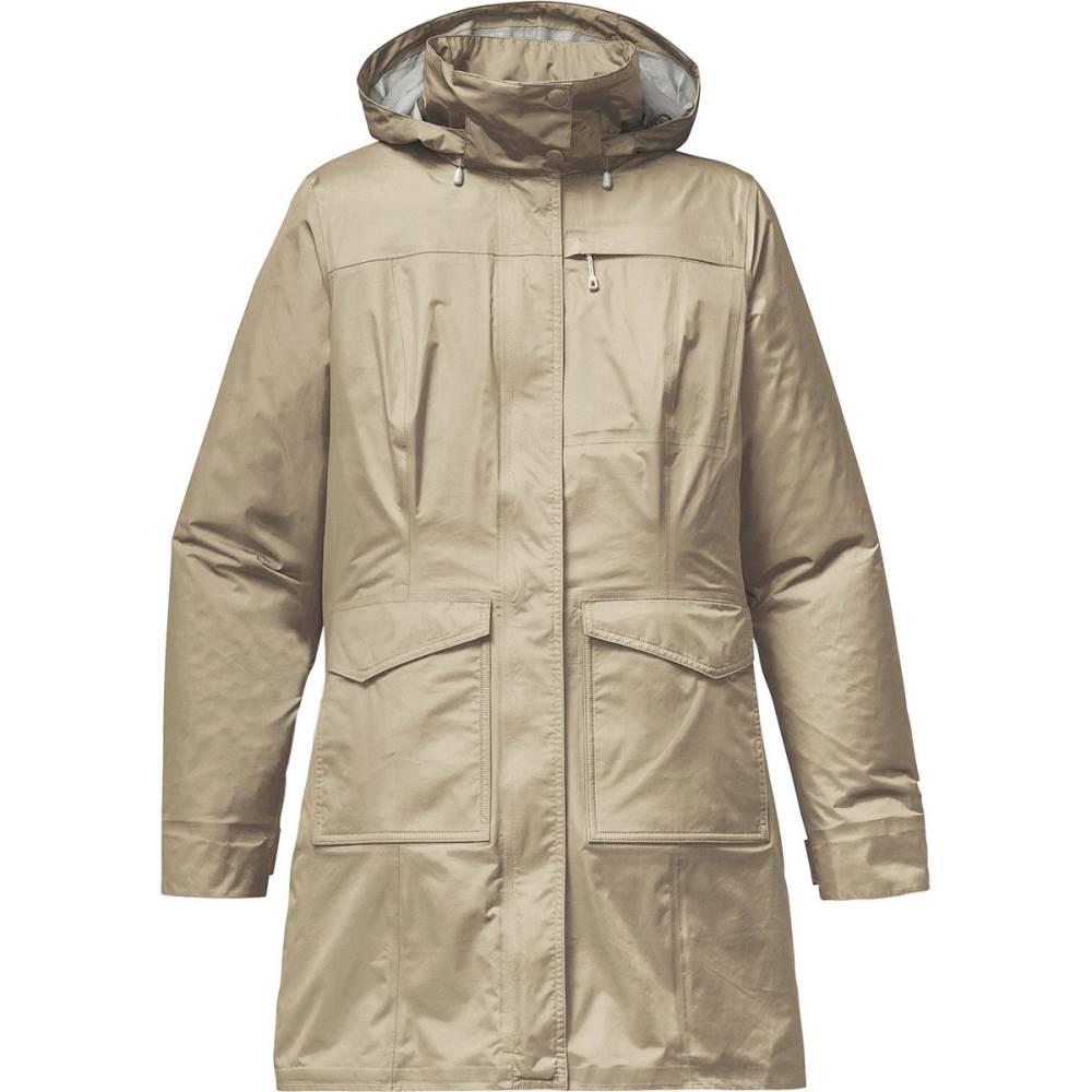 パタゴニア レディース アウター レインコート【Torrentshell City Coat】Pelican