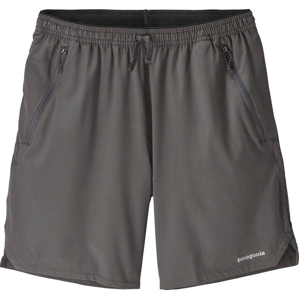 パタゴニア メンズ フィットネス・トレーニング ボトムス・パンツ【Nine Trails Shorts】Forge Grey