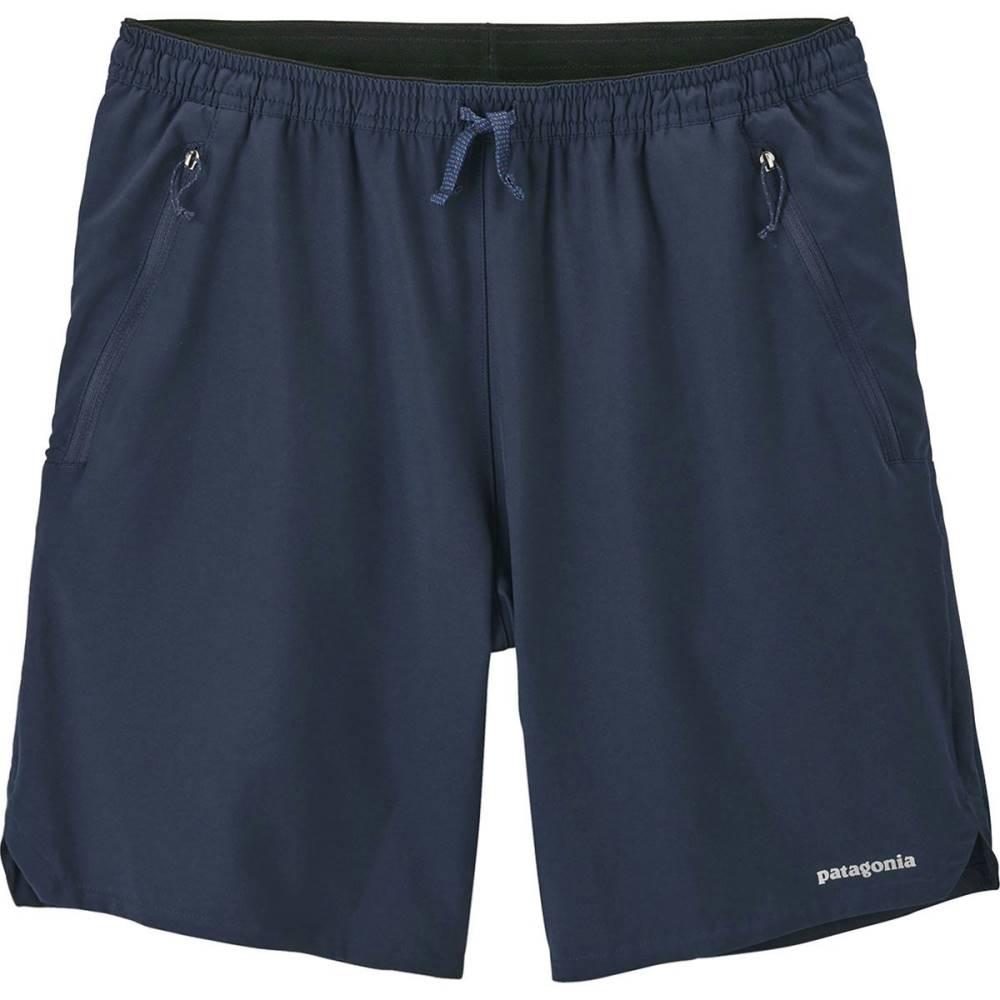 パタゴニア メンズ フィットネス・トレーニング ボトムス・パンツ【Nine Trails Shorts】Navy Blue