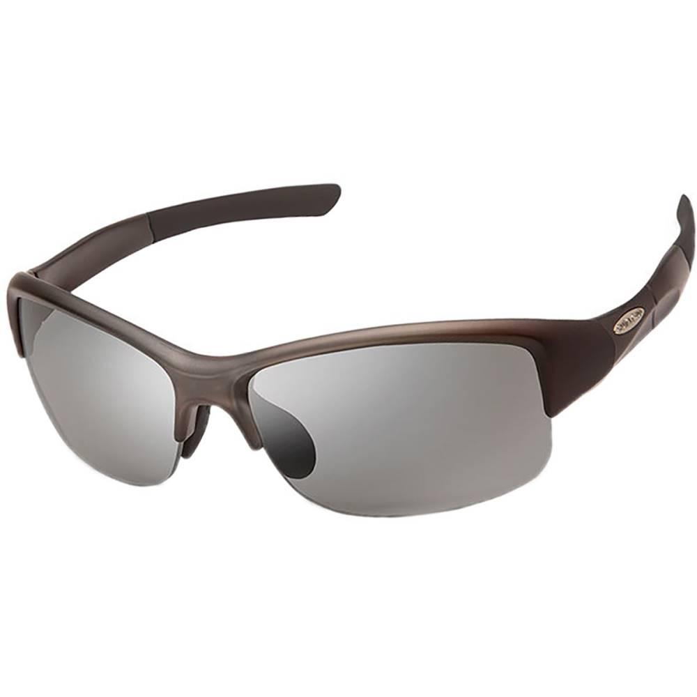 サンクラウド レディース スポーツサングラス【Torque Photochromic Sunglasses】Matte Smoke/Photochromic Polycarbonate/Contrast