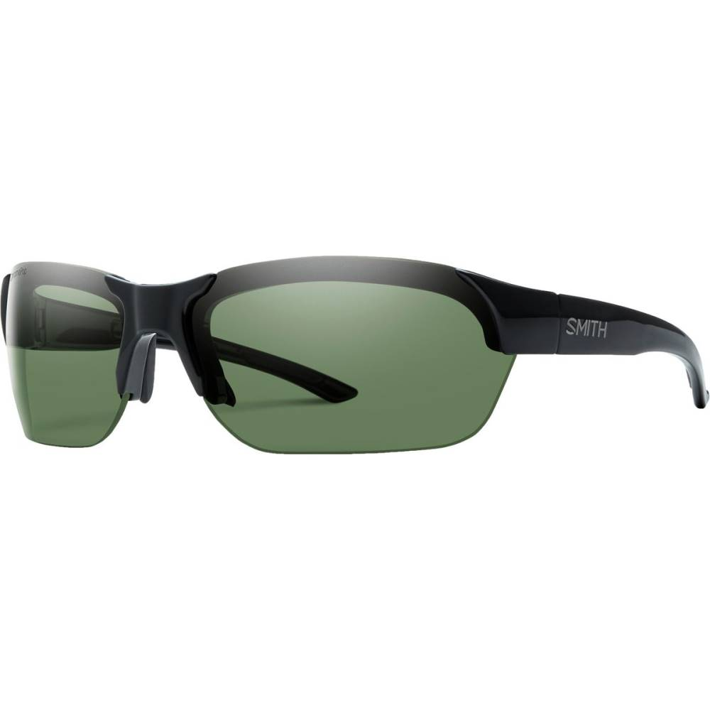 スミス メンズ スポーツサングラス【Envoy Polarized ChromaPop Sunglasses】Black/Polarized Gray Green