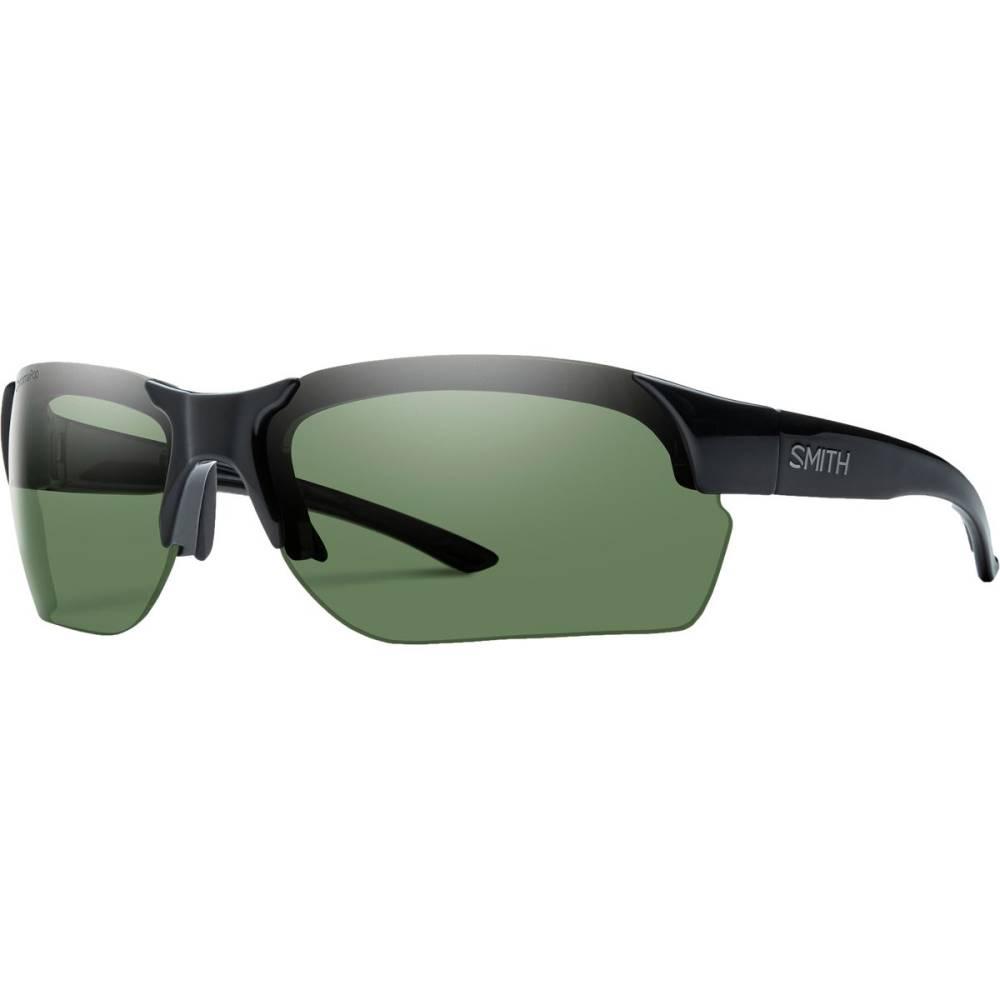スミス メンズ スポーツサングラス【Envoy Max Polarized ChromaPop Sunglasses】Black/Polarized Gray Green