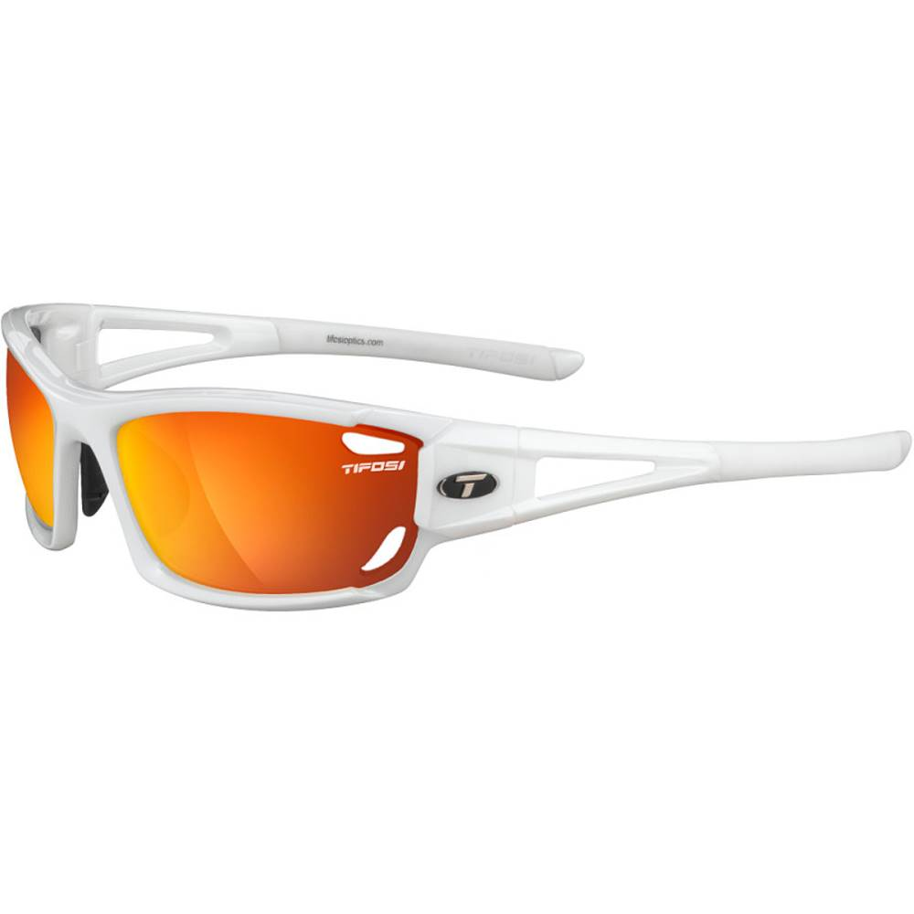 ティフォージ レディース スポーツサングラス【Dolomite 2.0 Sunglasses】Pearl White/Smoke Red-Smoke Bright Blue-Clear